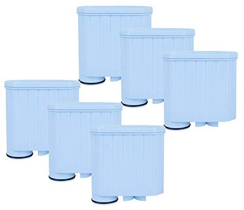 6 Pack AquaHouse AH-CSA – Filtercartridges Compatibel met Saeco Philips AquaClean Waterfilter Koffiemachines