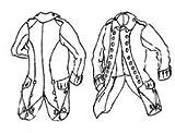 18th Century Regimental Coat Pattern