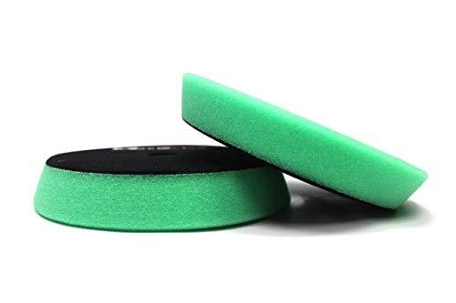 Maxshine Microfiber 3.2//80x10mm DA Finishing Foam Pad with Black Hook/&Loop