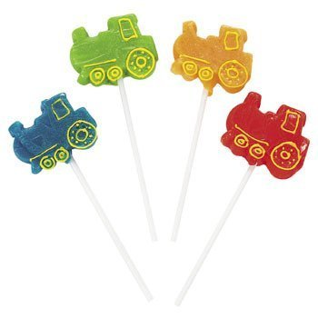 (Train Shaped Lollipops Suckers (12 pc))