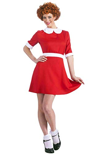 Forum Novelties 73975 Adult Women's Orphan Annie Costume, X-Large, Pack of 1]()