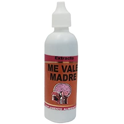 Me Vale Madre 60ml Extracto Auxiliar for Insomnia, Stress, Nervousness, Anxiety