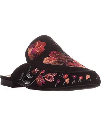 INC International Concepts Womens Gannie 2 Closed Toe Mules, Black, Size 6.5 from INC International Concepts