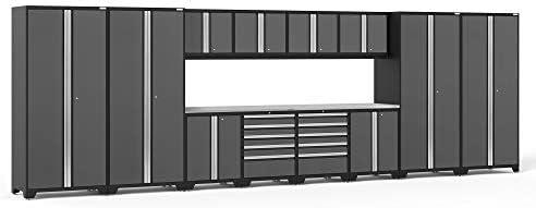 [해외]NewAge Products Pro 3.0 Gray 14 Piece Set Garage Cabinets 52142 / NewAge Products Pro 3.0 Gray 14 Piece Set, Garage Cabinets, 52142