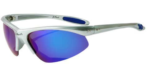 Jimarti JMP8 Polarized Sunglasses for Golf, Fishing, Cycling & Party (Silver & Ice - Jimarti Sunglasses