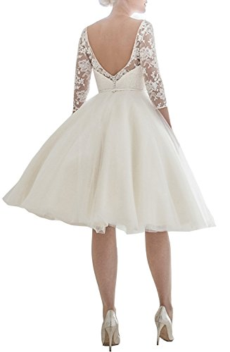 Engerla - Vestido - para mujer Marfil