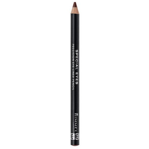 (3 Pack) RIMMEL LONDON Special Eyes Precision Eyeliner Pencil - Rich Brown
