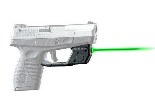 ArmaLaser Taurus 709 740 Slim TR18G Green Laser Sight with Grip Activation