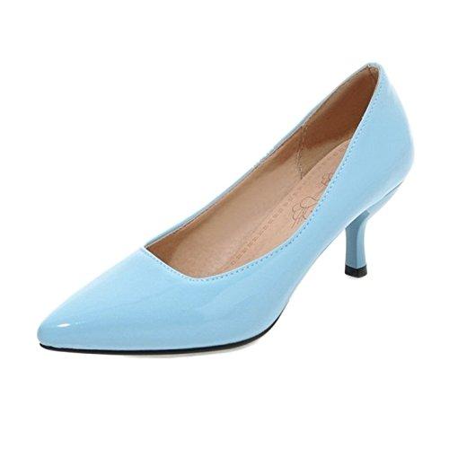 Femme Femme Bleu Compensées Sandales Compensées Onewus Onewus Onewus Bleu Sandales 8wdq8