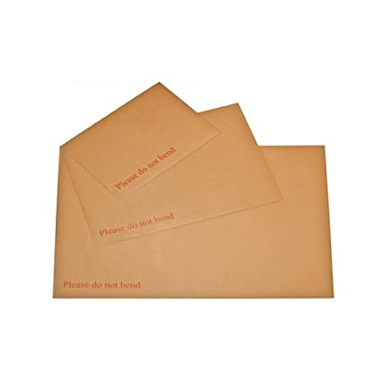 C3 C4 A4 Hard Board Backed Envelopes /'Please do not bend/' A5 C5 A3