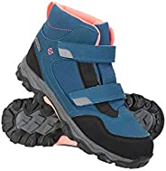 Mountain Warehouse Waterproof Kids Boots - Mesh Lined Childrens Shoes