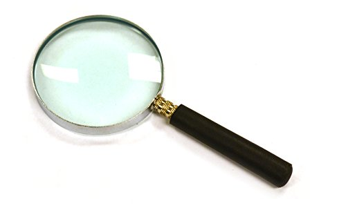 Eisco Labs Magnifying (Reading) Glass, Lab Quality, 2.5