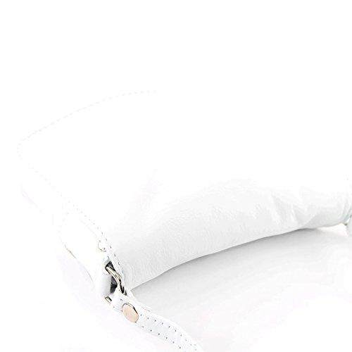 Weiß femme bandoulière Italy pour Sac Made RxSHqX4n