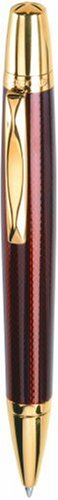 Waterford Kilbarry WF/452/GGA Ball Pen/Capless Roller Ball Guilloche Amber - Kilbarry Waterford Guilloche