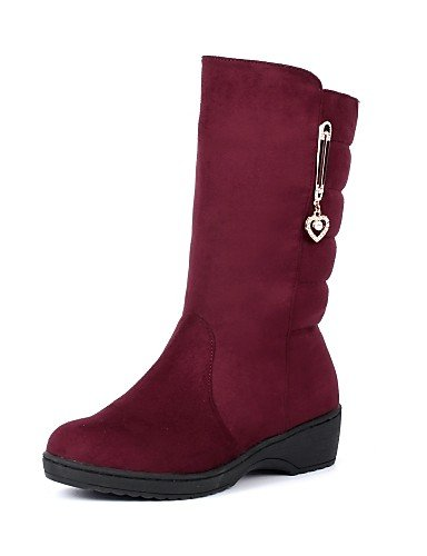 Plattform Casual Fleece Snow Schuhe Damen Stiefel Beute Citior Damen Schuhe Boots Stiefel TOxqw4ngAW