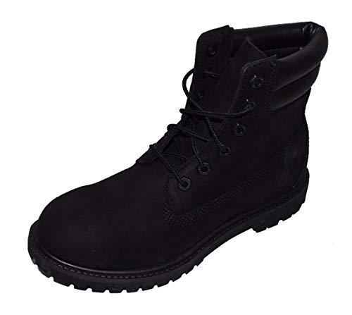 6 Boot Double Waterville Black Timberland Inch Collar Women's 8Exqg