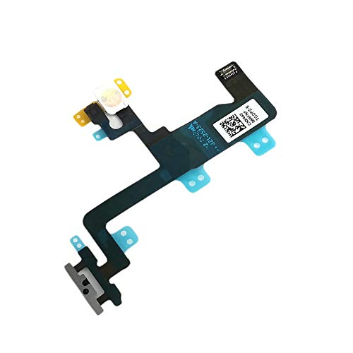 Power Button on Off Switch Flash Light Flex Cable Replacment Part for iPhone 6