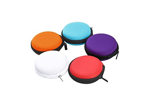 立即购买! 6PCS Macaron EVA Jewelry Storage Box-Earphone Earbuds Collection