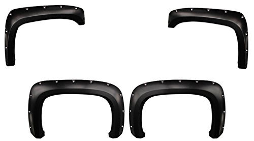 Chevy Silverado Fender Flares Pocket Style Set of 4 fits 03-07 Trucks Paintable (78 Chevy Truck Lift compare prices)