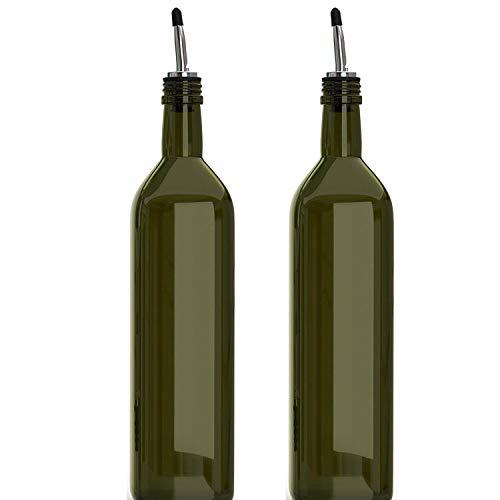 Axe Sickle 2 Pcs Oil Spout Liquor Pourers, Speed Pourer, Wine Bottle Stopper, Liquor Pour Spout, Bottle Tapered Spout for Oil, Wine, Vinegar and Liquid, With Dust Caps
