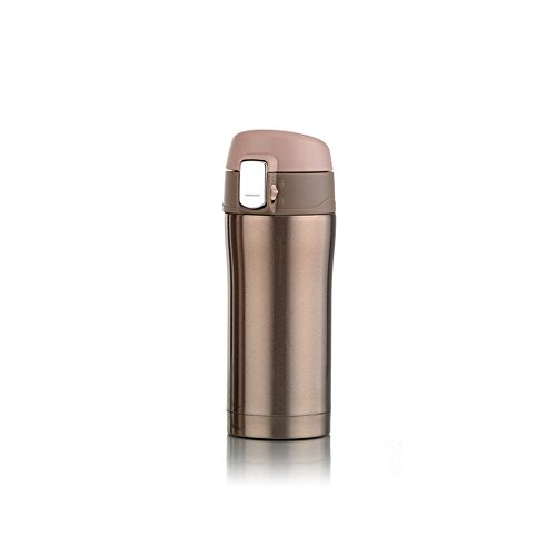 Dabixx Travel Office Coffee Tea Water Bottle Cups Stainless Steel Cup Gold by Dabixx
