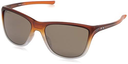 Oakley Women's Reverie Square Sunglasses, Rose Gold Fade, 55.1 mm ()