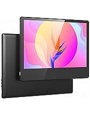 Ayaaa Monitor portátil, tela sensível ao toque para jogos, monitor portátil de 13,3 polegadas, tela 1280 x 800 Full HD