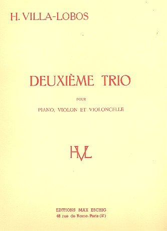 Download Villa-Lobos: Piano Trio No. 2 pdf epub