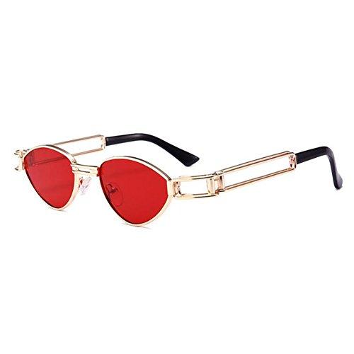 Steampunk C4 soleil Retro de Sunglasses Femme WEIMEITE Metal Box UV400 Lunettes fpn4qUw