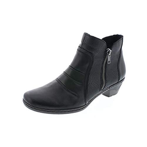 76962 Boots Ankle 00 Black Rieker PwR8qw