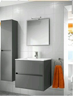 bathroom furniture modern. Modern Bathroom Furniture, Vanity Set Noja 36\u0026quot; Matte Grey, (Made In  Spain Bathroom Furniture Modern