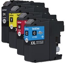 Refurbished / Compatible Brother LC105 (XXL) / LC107 INK / INKJET Cartridge Super High Yield SET Black Cyan Magenta (Refurbished Inkjet)