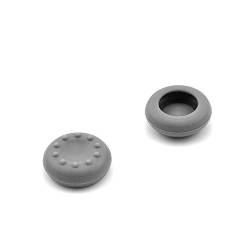 Analog Silicone Thumb Stick Grip Joystick Caps Cover for PS4 PS3 Xbox 360 Xbox One Game Controllers (2 x Grey)