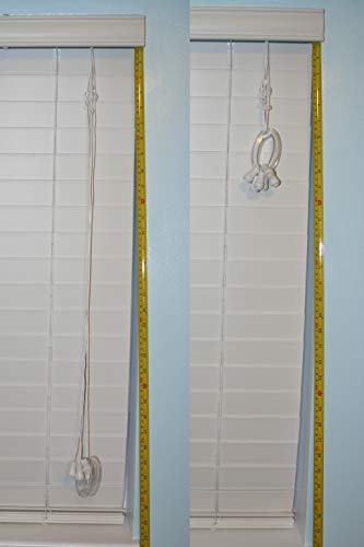 312DUhQoLJL Iba Innovations Blind Cord Winder (2 Pack) - No Wall Damage Safety Blind Cord Wrap Cleat Alternative    Simple and attractive blind cord management without wall or paint damage. Quickly and effectively place blind cords out of the reach of children and pets. No dangling cords! Nothing to fasten to walls! Ready-to-use immediately; no messy installation required. Works with long cords; no need to use two! Also makes a great handle. Made from durable, clear polycarbonate.