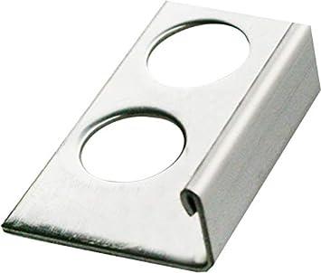 H/öhe: 6mm PREMIUM FUCHS Fliesenschiene Winkelprofil Edelstahl V2A Geb/ürstet 10 cm MUSTER kein Verdrehen m/öglich 1mm St/ärke