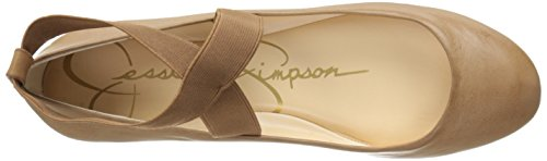 Cafe Simpson Ballet Jessica Mandayss Women's Flat Simpson Jessica Fancy tq7g8pg
