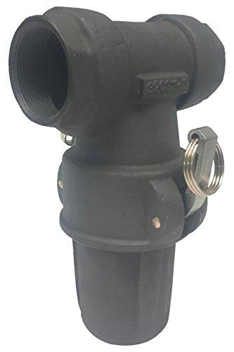 PT Coupling Petroleum Handling Series Hard Coat Aluminum T-Strainer, 2'' by PT Coupling