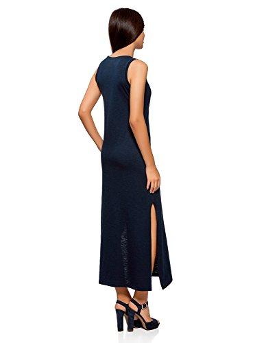oodji Ultra Mujer Vestido Largo con Calavera de Pedrería: Amazon.es: Ropa y accesorios
