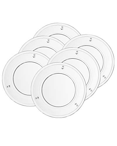La Rochere Set Of 6, 7.5-inch Napoleon Bee Dessert Plates ()
