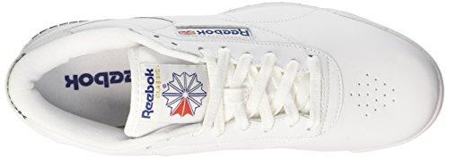 Royal Blue white Sneakers Logo Blue o Weiß Reebok Int Royal Herren fit Clean Int Ex Rw7U1O