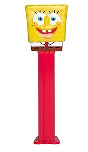 Spongebob Squarepants- Spongebob Pez Dispenser with 2 refills]()
