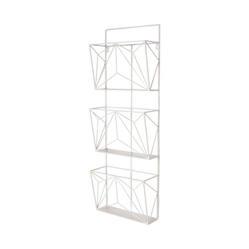 Cheap  Kate and Laurel Tyde Hanging Wall File Organizer Mail Holder with Three..