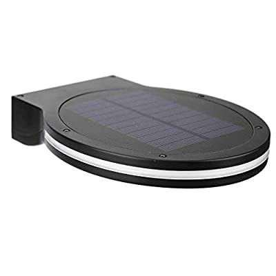 alloet 3 Modes Solar 38LED Outdoor Wall Light Waterproof Garden Yard Night Lamp