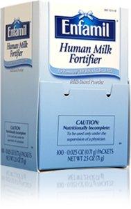 Image of the Enfamil Human Milk Fortifier, Powder .71g Foil Sachets 0.02 oz