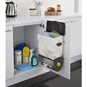 Portadora Simplehuman Built In Kitchen Bin And Carrier Bag Holder Made Of  Stainless Steel Material