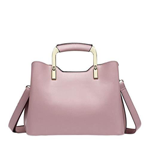 Taglia borsa da a da donna Taglia Rosa borsa viaggio tracolla moda tracolla Borsa a Colore NERO unica 0qwOg0E