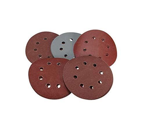 25pcs 5 Inch 8 Hole Hook and Loop 800 1000 1500 2000 3000 Grit Sand Paper Sanding Discs