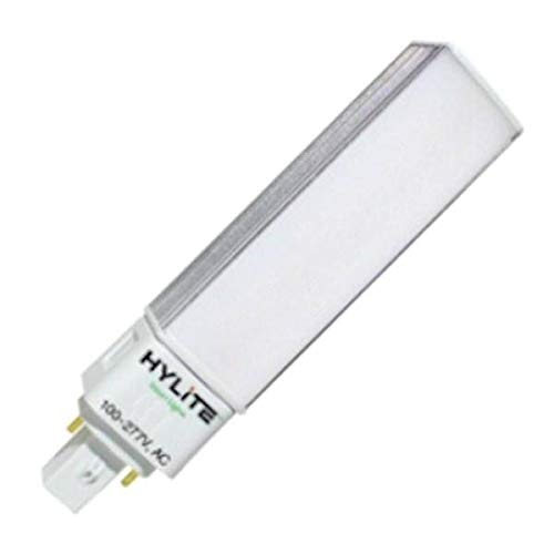 HyLite 77260 - HL-G24-8W-35K 8W, 120 18W CFL/26W CFL LED PL LAMP LED 4 Pin Base CFL Replacements