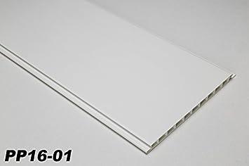 20 m2 PVC Paneele Kunststoffplatten Wandverkleidung Decke 200x16cm ...