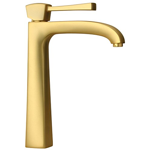 La Toscana 89OK205LL Satin Gold Lady Single Handle Tall Lava by La Toscana